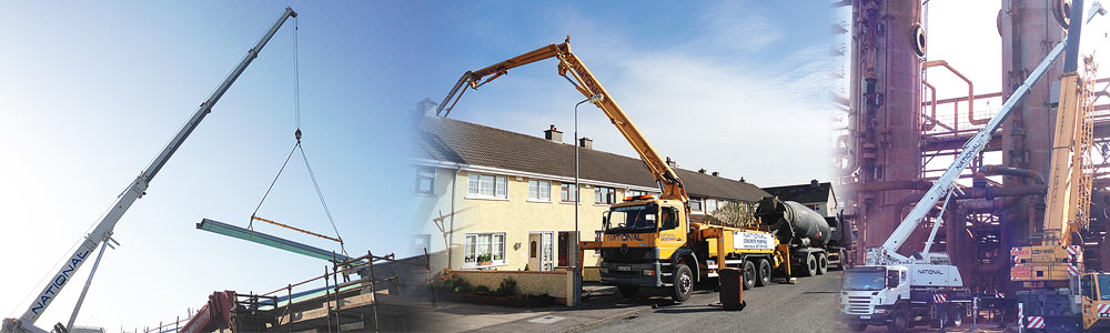 National Concrete Pumping & Crane Hire: offering a leading